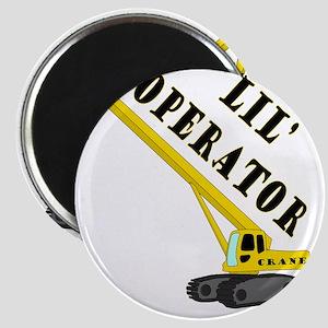 Lil Crane Operator Magnet