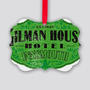 GILMAN HOUSE HOTEL Picture Ornament