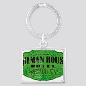 GILMAN HOUSE HOTEL Landscape Keychain