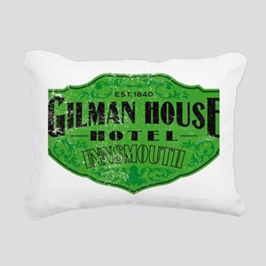 GILMAN HOUSE HOTEL Rectangular Canvas Pillow