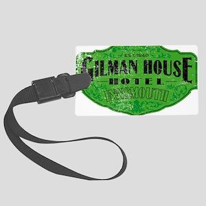 GILMAN HOUSE HOTEL Large Luggage Tag