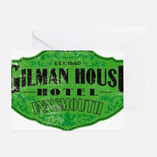 GILMAN HOUSE HOTEL Greeting Card