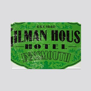 GILMAN HOUSE HOTEL Rectangle Magnet