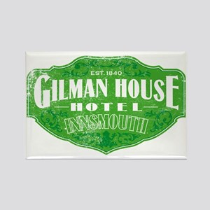 GILMAN HOUSE HOTEL Rectangle Magnet