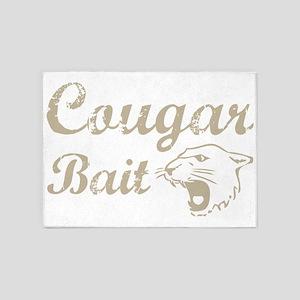 cougar bait 5'x7'Area Rug