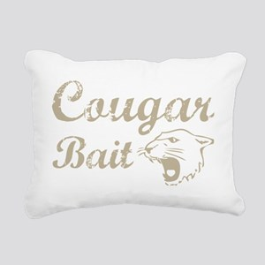 cougar bait Rectangular Canvas Pillow