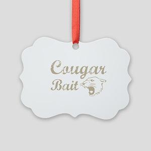 cougar bait Picture Ornament