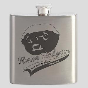 Honey Badger Design Flask