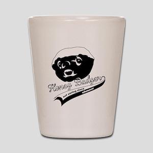 Honey Badger Design Shot Glass