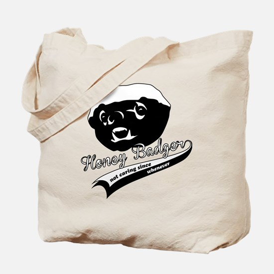 Honey Badger Design Tote Bag