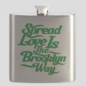 brooklynspreadloveGREEN Flask