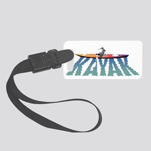 kayak ripple drk Small Luggage Tag