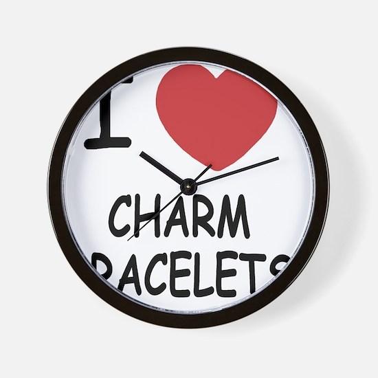CHARM_BRACELETS Wall Clock