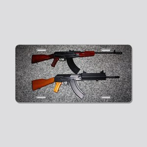 B3AK 003 Aluminum License Plate