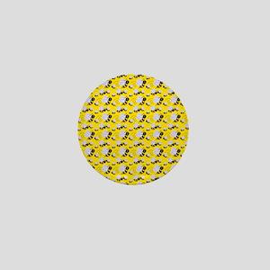 bumble bee Mini Button