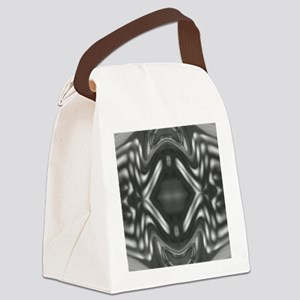 frienemy black and white Canvas Lunch Bag