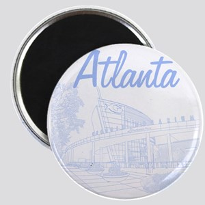 Atlanta_10x10_GeorgiaAqarium_LightBlue Magnet