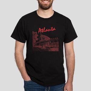 Atlanta_10x10_GeorgiaAqarium_Red Dark T-Shirt