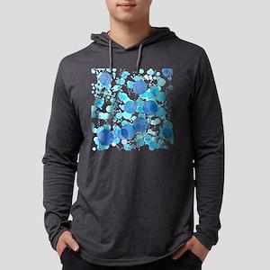 Bubbles Blue Long Sleeve T-Shirt