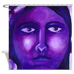 Watching, Goddess Shower Curtain