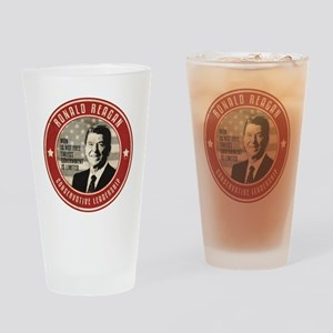 july11_reagan_conservative Drinking Glass