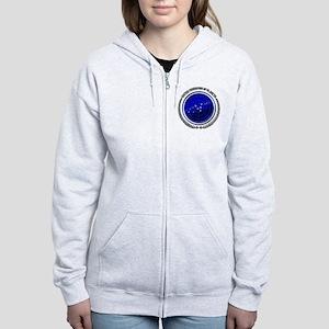 trekfed Women's Zip Hoodie