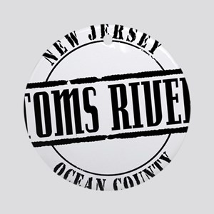 Toms River Title W Round Ornament