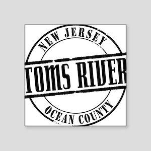 """Toms River Title W Square Sticker 3"""" x 3"""""""