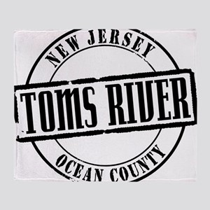 Toms River Title W Throw Blanket