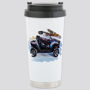 I'd Rather Be Riding Stainless Steel Travel Mug