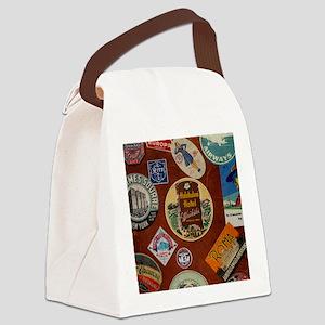 luggage_460_ipad_case Canvas Lunch Bag