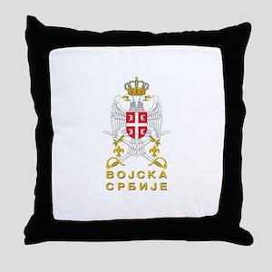 Vojska Srbije / Serbian Army Throw Pillow