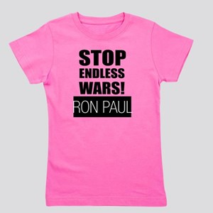 stop_endless_wars Girl's Tee