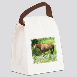 Hill Country Horse Canvas Lunch Bag