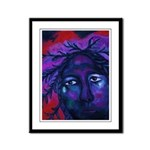Mother Watching All Framed Panel Print