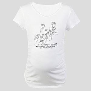 0914_ cloning_cartoon Maternity T-Shirt