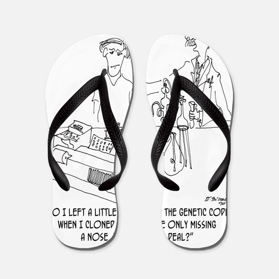 0914_ cloning_cartoon Flip Flops