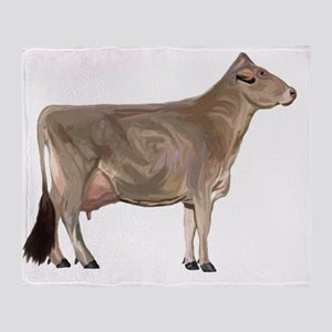 BrownSwiss Throw Blanket