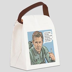 MikeNelsonBadNameTile Canvas Lunch Bag