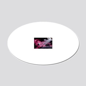 SPACEVIEW 20x12 Oval Wall Decal