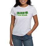 Irish I was Drunk St. Patrick Women's T-Shirt