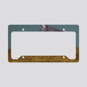 Hokey-Pokey Sleeping License Plate Holder