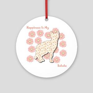 Sokoke Happiness Ornament (Round)