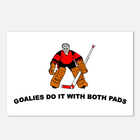 Goalies do it with... Postcards (Package of 8)