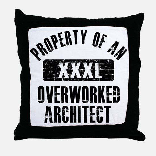 architect Throw Pillow