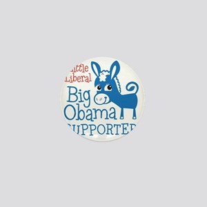 NEW-LittleBigObama Mini Button