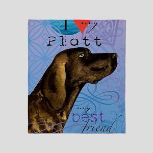 plott-iPad Throw Blanket