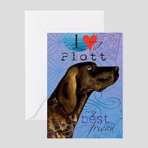 plott-iPad Greeting Card