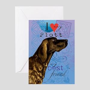 plott-kindle Greeting Card