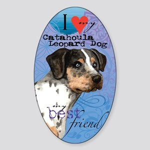 catahoula-kindle Sticker (Oval)